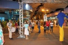 Entrada da feira